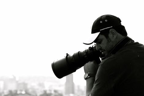 Longue vue sur demain - Grand Prix de Montréal 2012 - Journaliste au travail