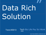 Data Rich Solution