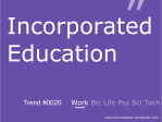 Incorporated Education