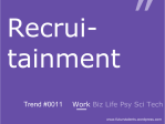 Recruitainment