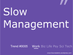 Slow Management