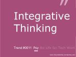Integrative Thinking