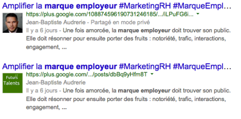 Google+ Authorship