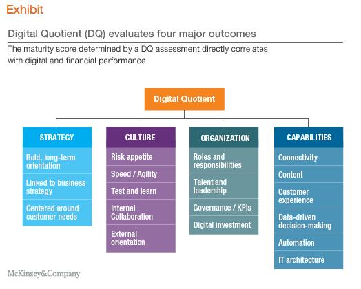 McKinsey Digital Quotient Model